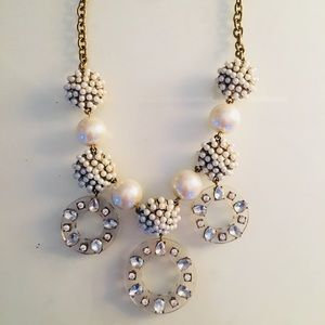 Pearl and gold necklace from Loft